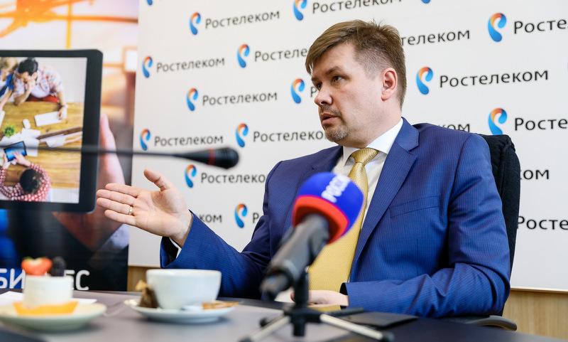 Директор Архангельского филиала ПАО «Ростелеком» Андрей Прищемихин.