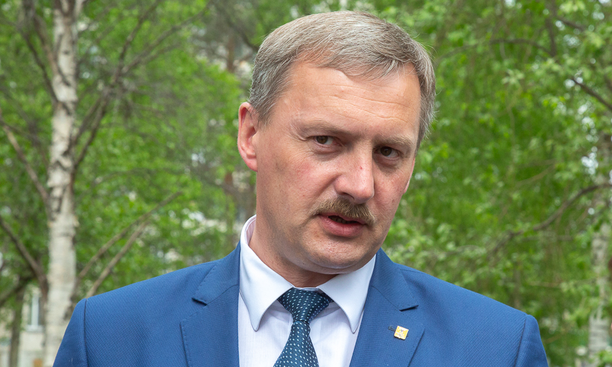 Глава Архангельска Игорь Годзиш.